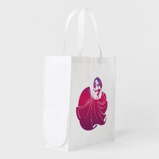 Gypsy Flower Power Grocery Bag
