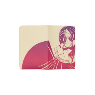 Gypsy Flower Power Pocket Moleskine Notebook