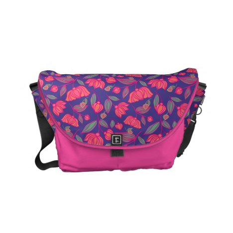 Gypsy Flowers Small Messenger Bag