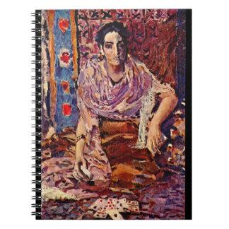 Gypsy Fortune Teller 1895 Spiral Notebook