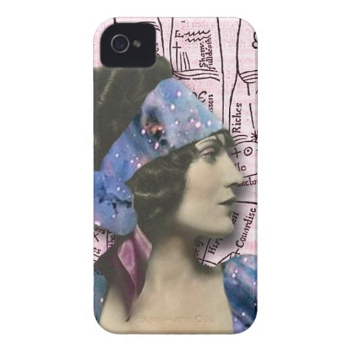 Gypsy Fortune Teller, altered art iPhone 4 Case-Mate Cases