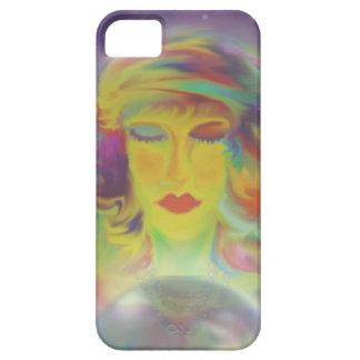 """""""Gypsy"""" Fortune Teller Digital Fantasy Art iPhone 5 Case"""