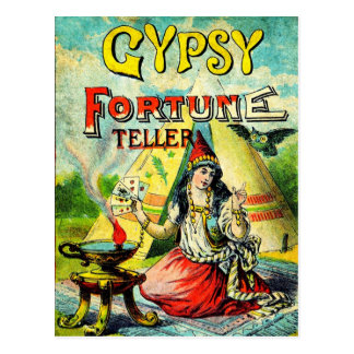 Gypsy Fortune Teller Postcards