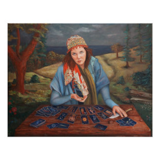 Gypsy Fortune Teller Poster