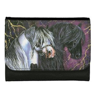 Gypsy & Friesian Horses Wallet