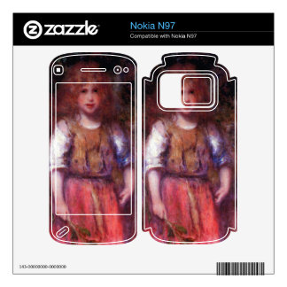 Gypsy girl by Pierre Renoir Skins For The Nokia N97