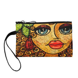 Gypsy girl coin purse