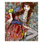 Gypsy Girl Print
