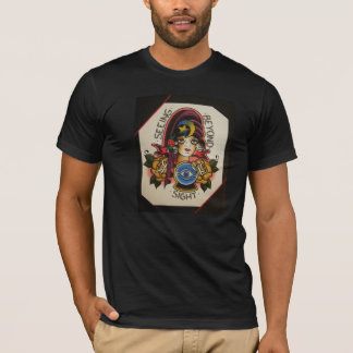 "Gypsy girl ""seeing beyond sight"" traditional T T-Shirt"