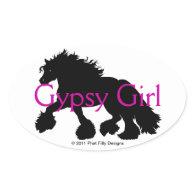 Gypsy Girl Sticker