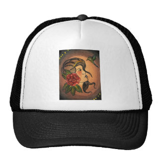 Gypsy Girl Trucker Hat