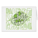 Gypsy Green 2 Card