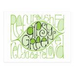Gypsy Green 2 Postcard