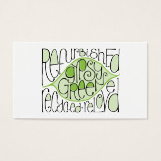Gypsy Green Business Card