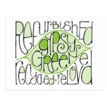 Gypsy Green Postcard