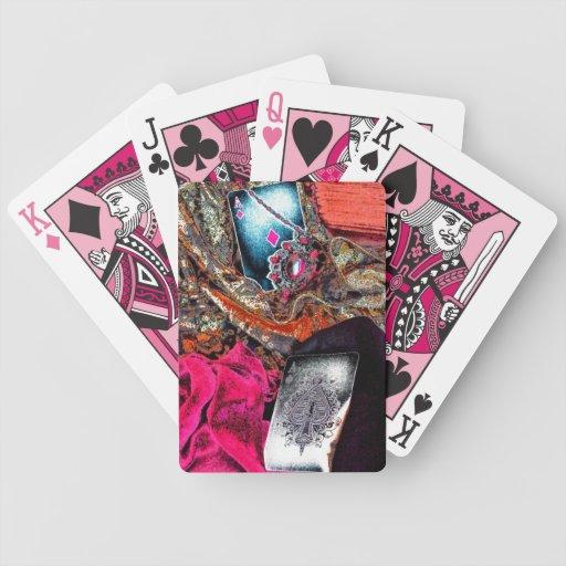 Gypsy Grunge Playing Cards