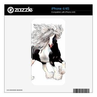 Gypsy Horse Casanova iPhone 4S Decals
