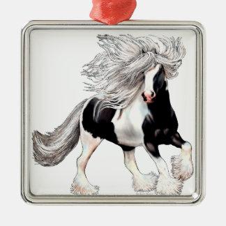 Gypsy Horse Casanova Metal Ornament