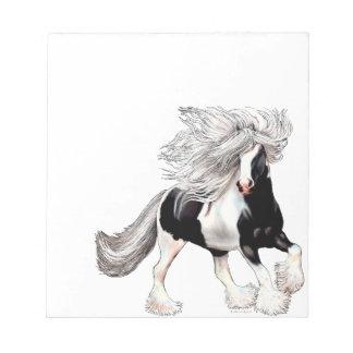 Gypsy Horse Casanova Notepad