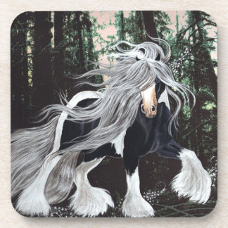 Gypsy Horse in the Forest Coasters
