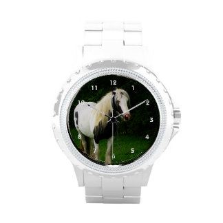 Gypsy horse photo wristwatches