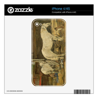 Gypsy Horses, c.1885-90 (oil on canvas) iPhone 4 Skins