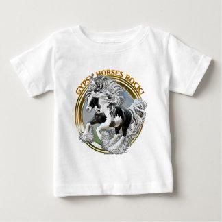 Gypsy Horses Rock Baby T-Shirt