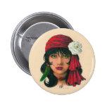Gypsy II 2 Inch Round Button