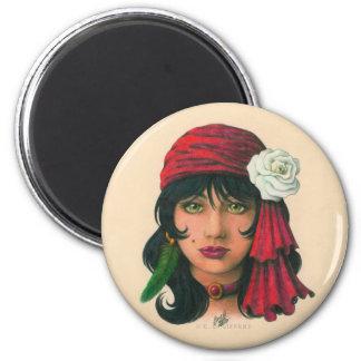 Gypsy II 2 Inch Round Magnet