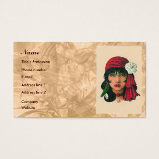 Gypsy II Business Card