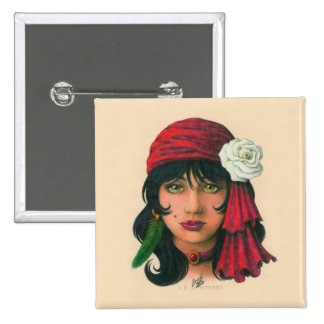 Gypsy II Pinback Button