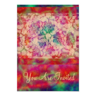 Gypsy Lace Roses Card