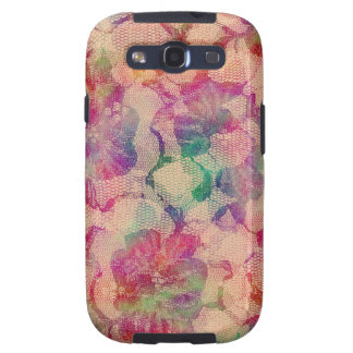Gypsy Lace Roses Samsung Galaxy S3 Cases