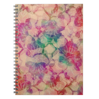 Gypsy Lace Roses Notebook