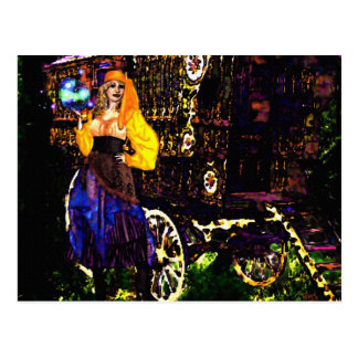 Gypsy Magic Postcard