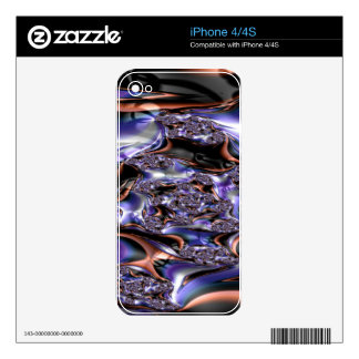 gypsy moire fractal skins for the iPhone 4S