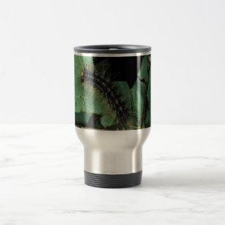 Gypsy Moth Caterpillar 15 Oz Stainless Steel Travel Mug