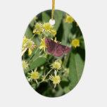 Gypsy Moth Christmas Ornaments