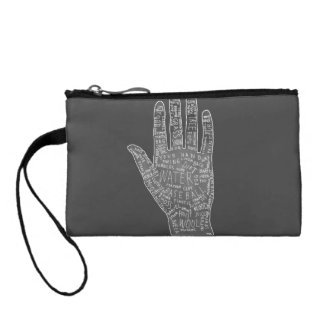 gypsy palm reading coin purse