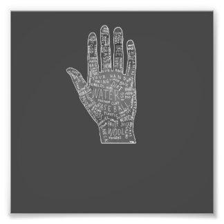 gypsy palm reading photographic print