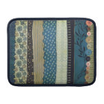 Gypsy Patchwork Rickshaw Sleeve, in Blue, Olive an Sleeve For MacBook Air