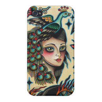 gypsy peacock iPhone 4 cases