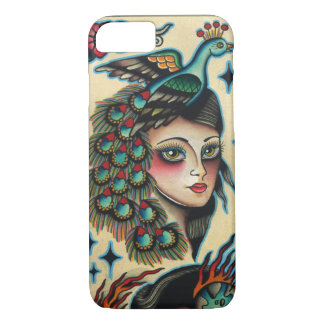 gypsy peacock iPhone 8/7 case