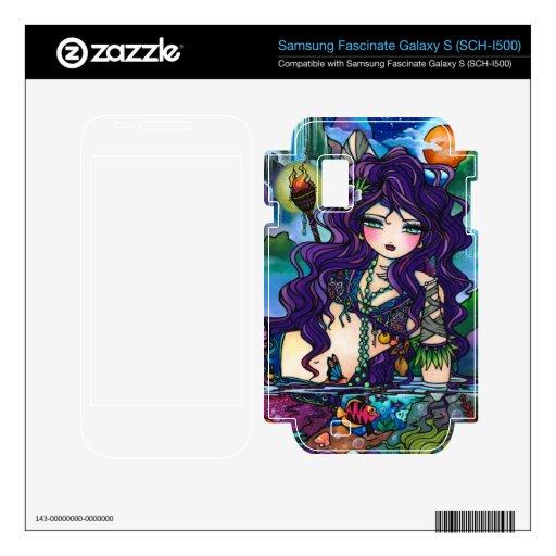 Gypsy Pirate Mermaid Fantasy Art Phone Skin Samsung Fascinate Skins