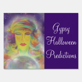 Gypsy Predictions Lawn Signs