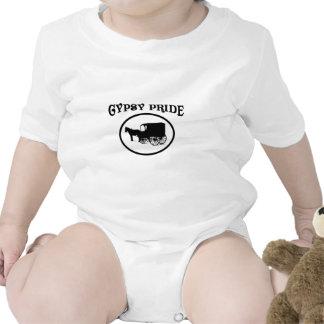 Gypsy Pride Black & White Caravan Tee Shirts
