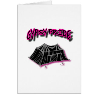 Gypsy Pride Camp Pink Card