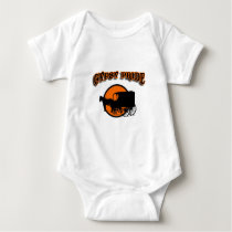 Gypsy Pride Traditional Caravan Baby Bodysuit