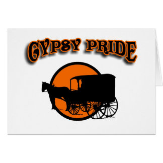 Gypsy Pride Traditional Caravan Card