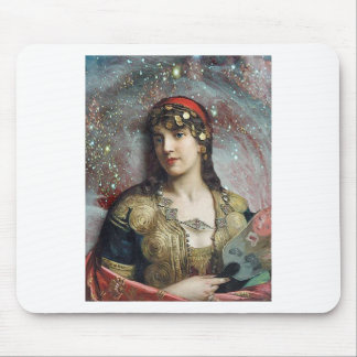 Gypsy Princess altered art Mouse Pads